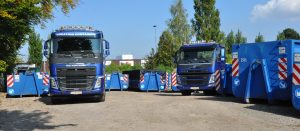 Elli containers et camions